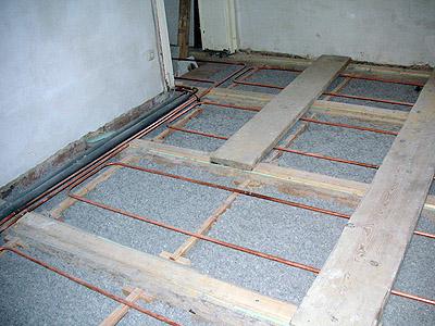 Turbo Fußbodenheizung in einer Holzbalkendecke ZV19