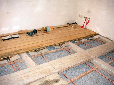 Berühmt Fußbodenheizung in einer Holzbalkendecke FZ12